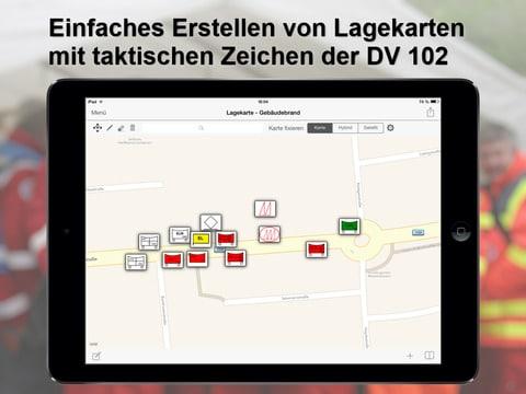 mobile Lagekarte