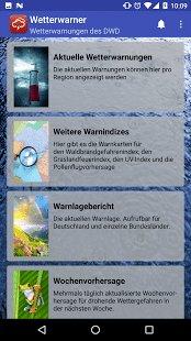 Wetterwarner pro App